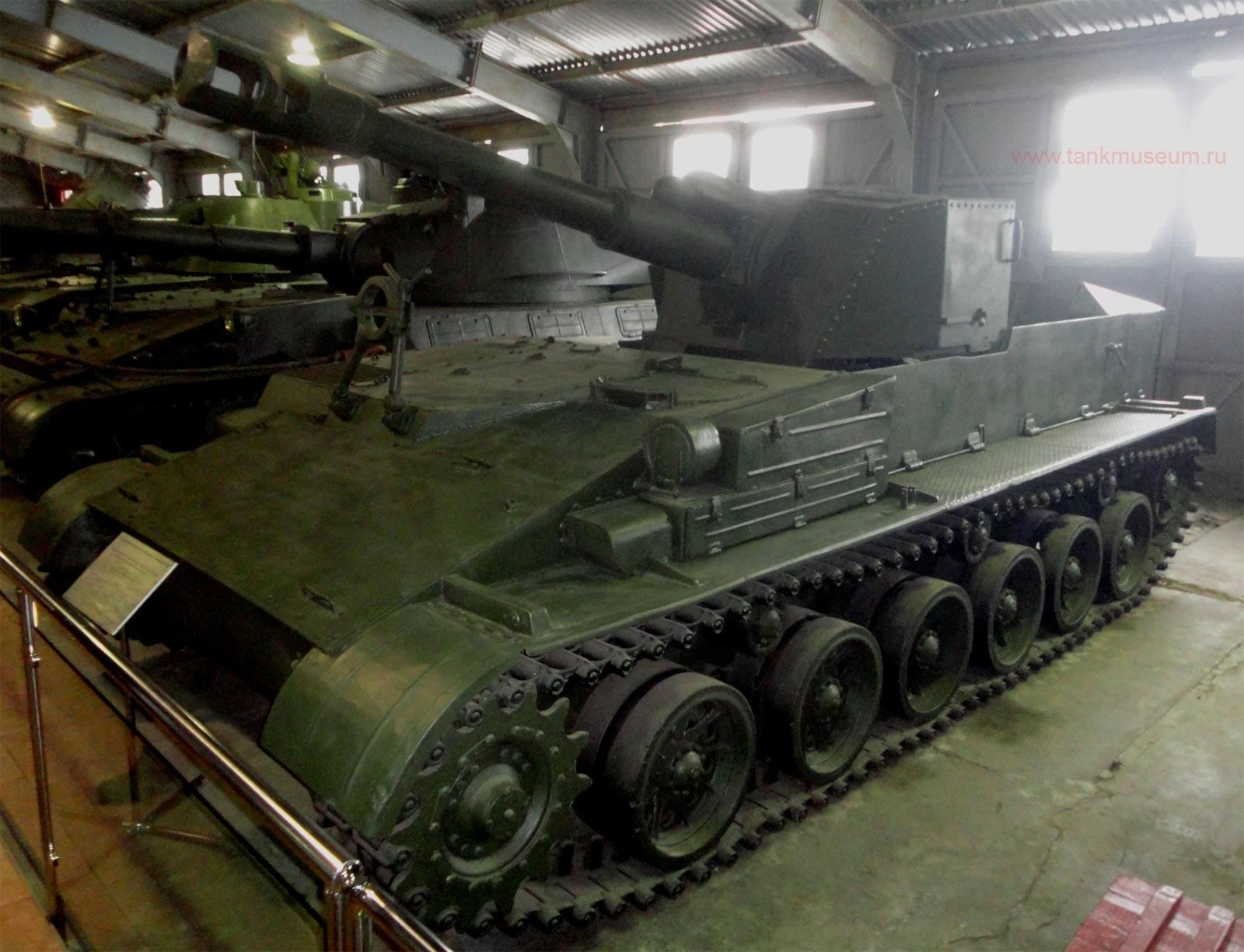 самоходная установка СУ-152Г танковый музей Кубинка
