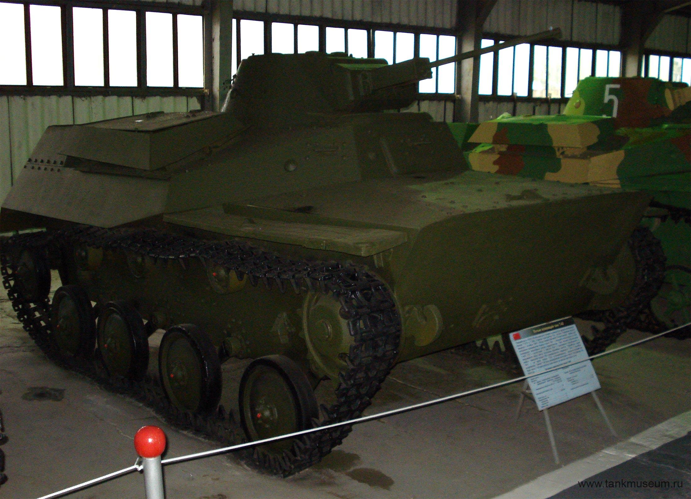 Легкий плавающий танк Т-40 (СССР)