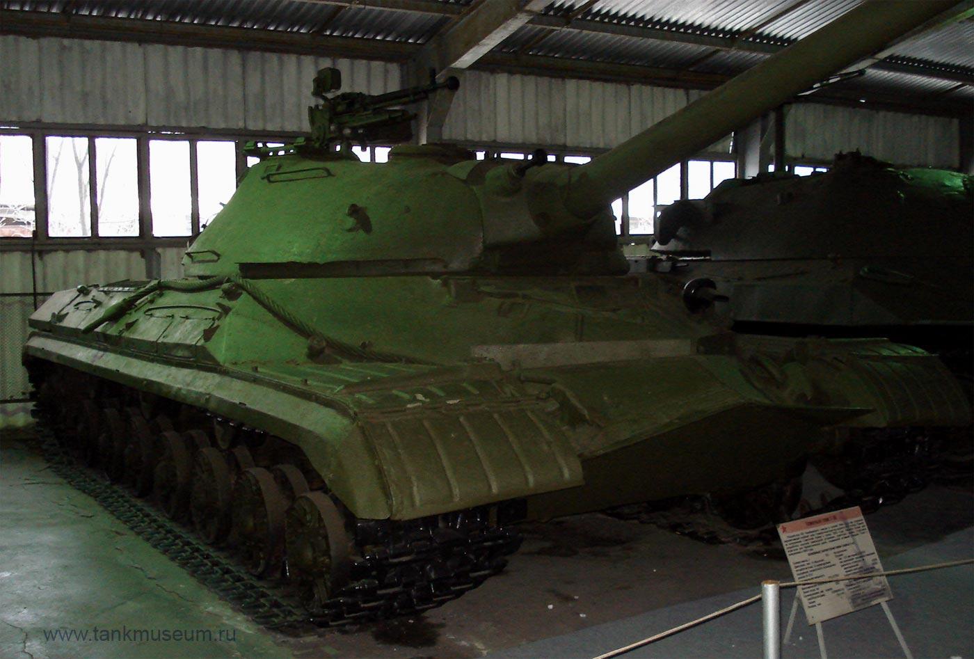 советский тяжелый танк Т-10, танковый музей Кубинка