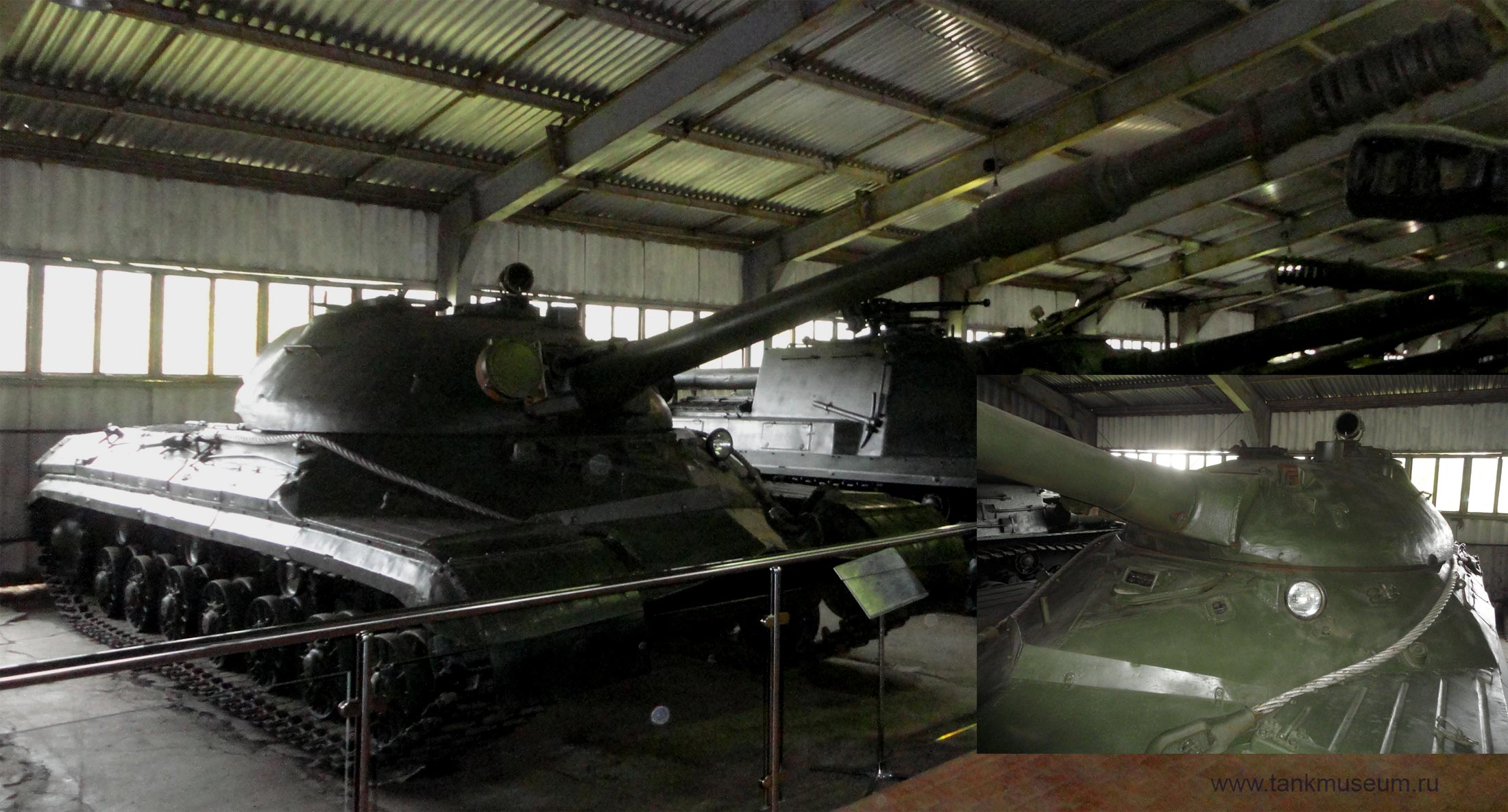тяжелый танк Т-10М танковый музей Кубинка