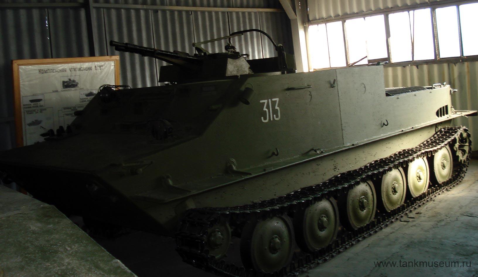 Зенитная самоходная установка ЗПТУ-2 на БТР-50П