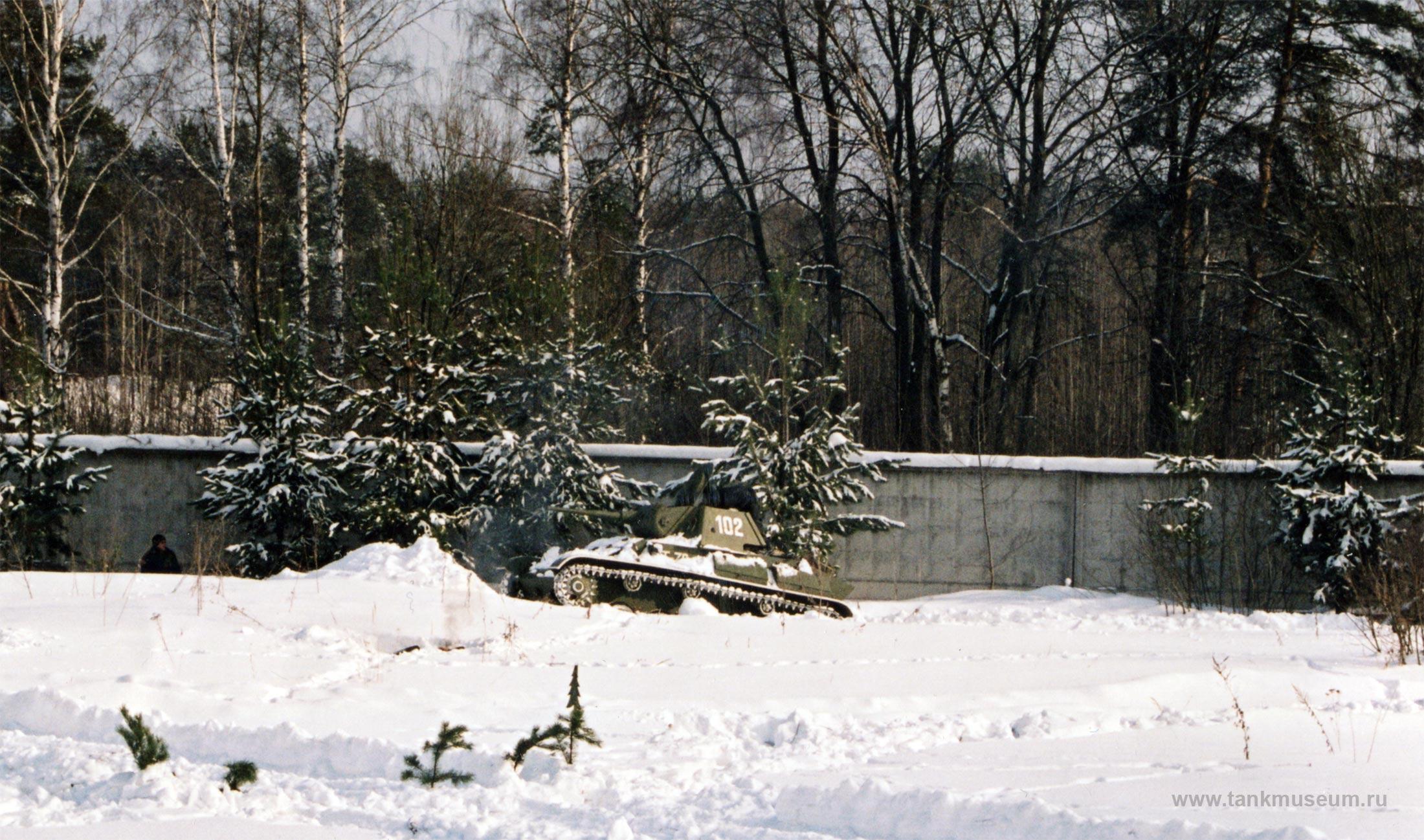 Танк Т-70 на празднике 23 февраля, Дне защитника Отечества