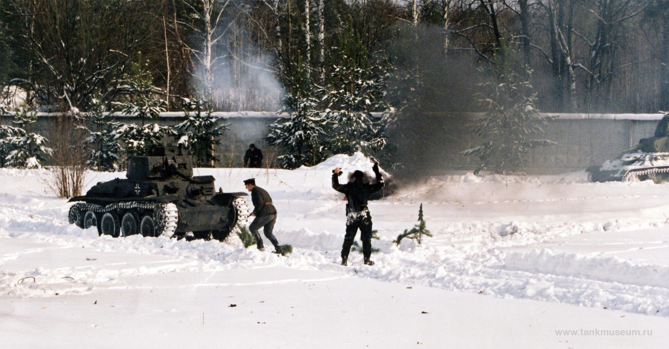 23 февраля 2005 г. Танковый музей, День защитника Отечества
