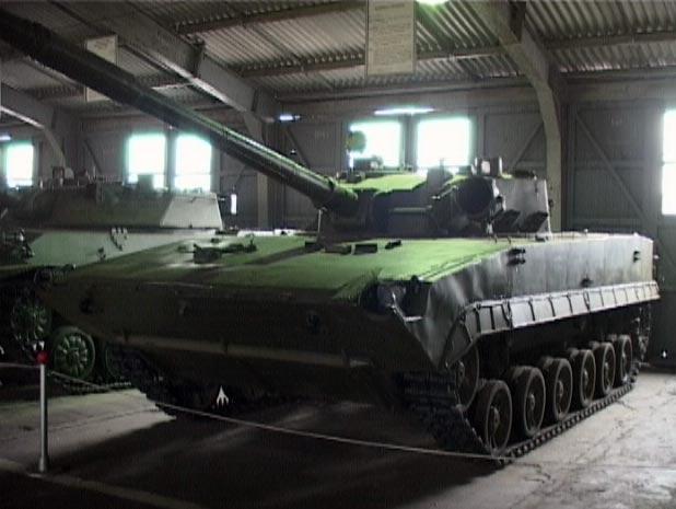 "Легкий плавающий авиадесантный танк ""Объект 685"""
