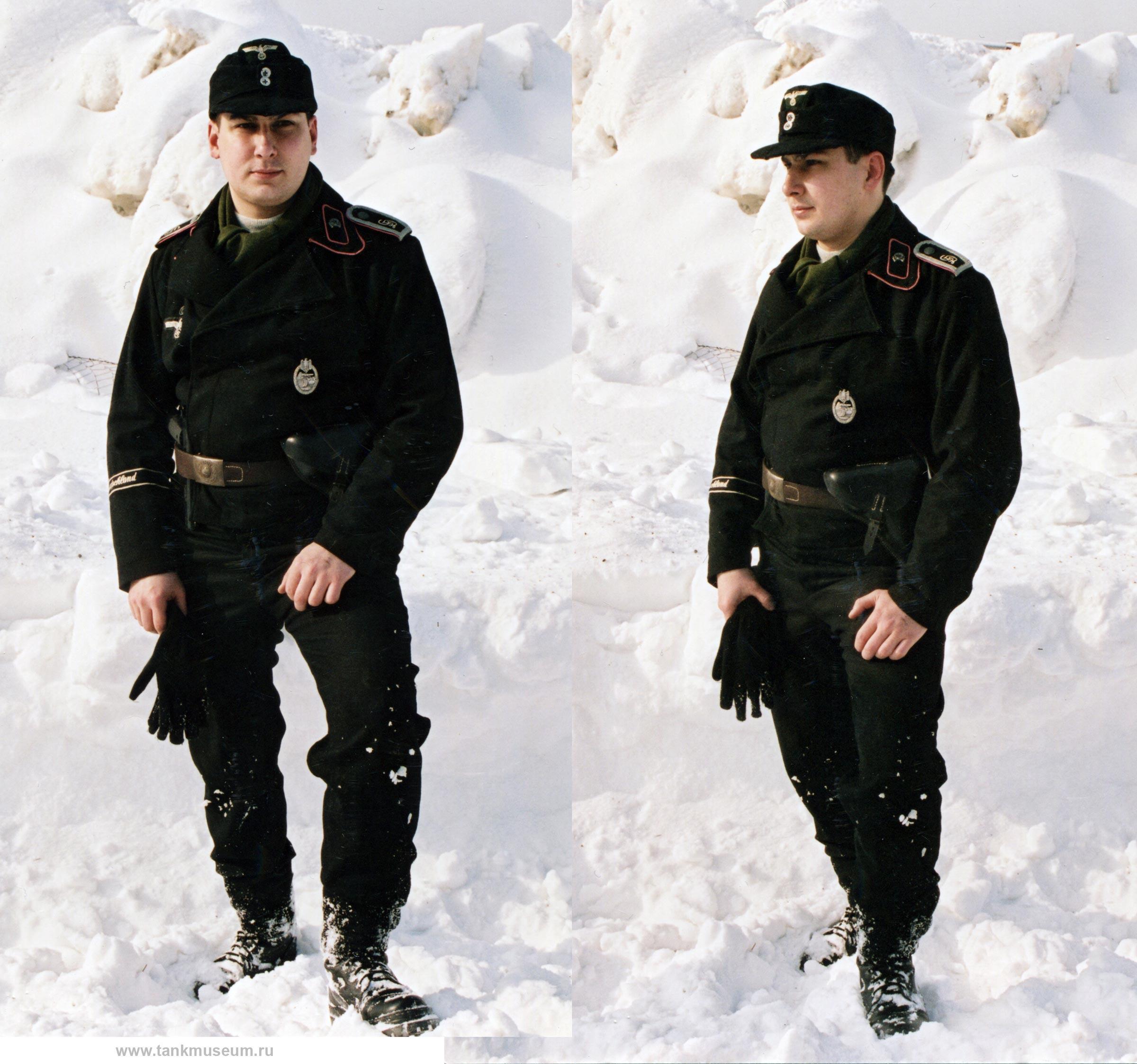 Униформа танкистов Вермахта на 1943 год. Реконструкция