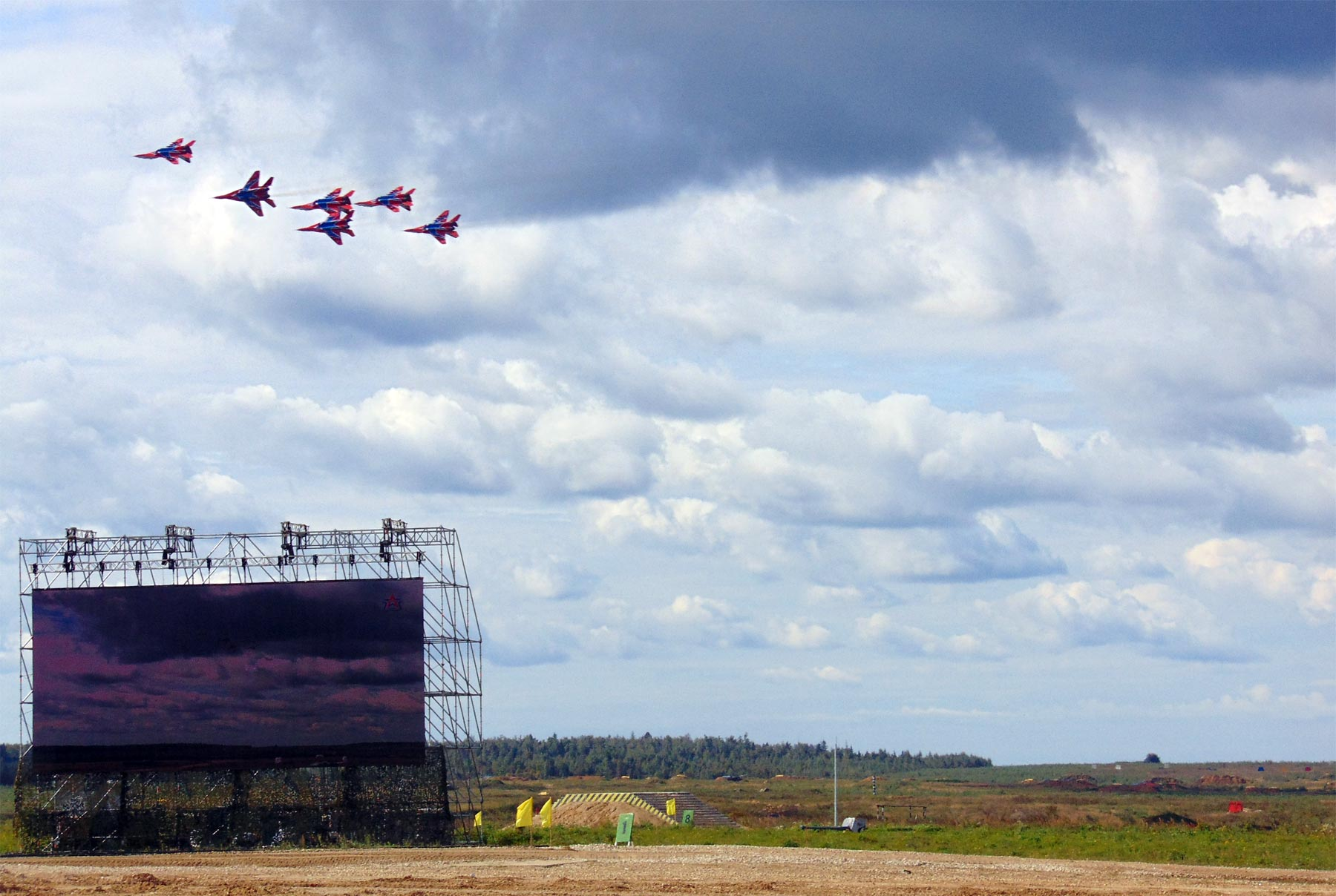 avia show at Kubinka
