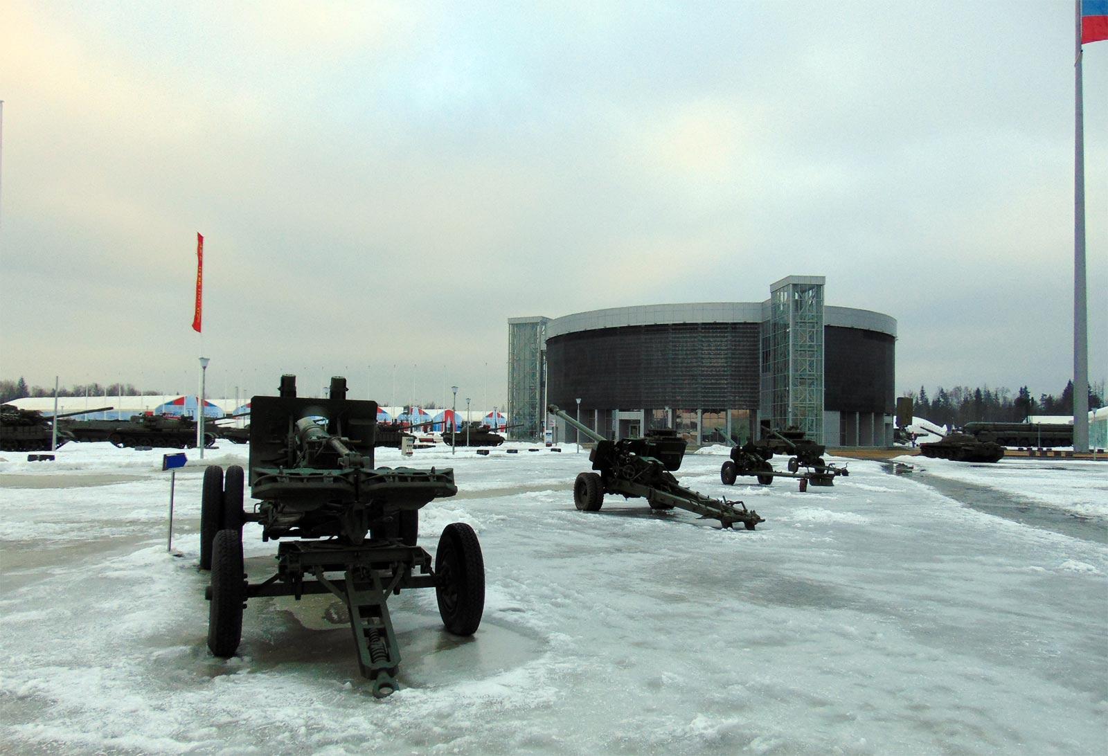 outdoor exhibition of Patriot park