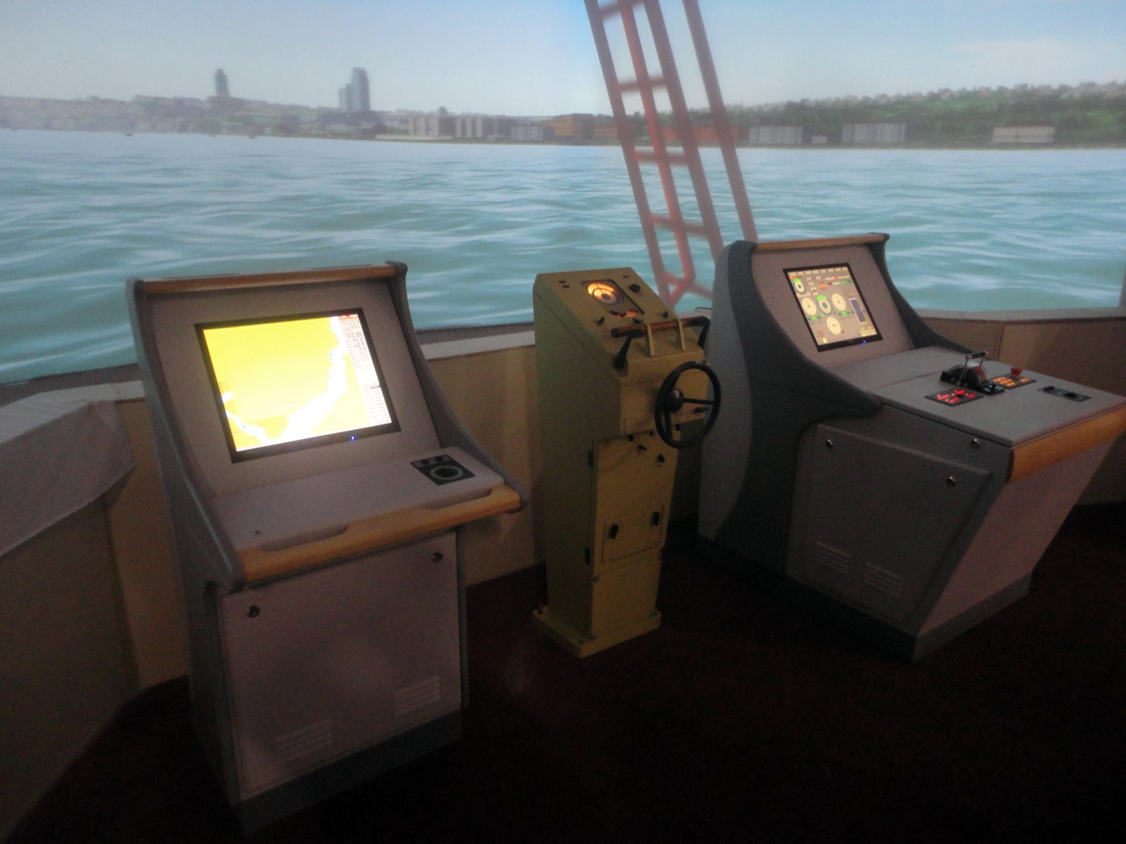 Russian ship simulators