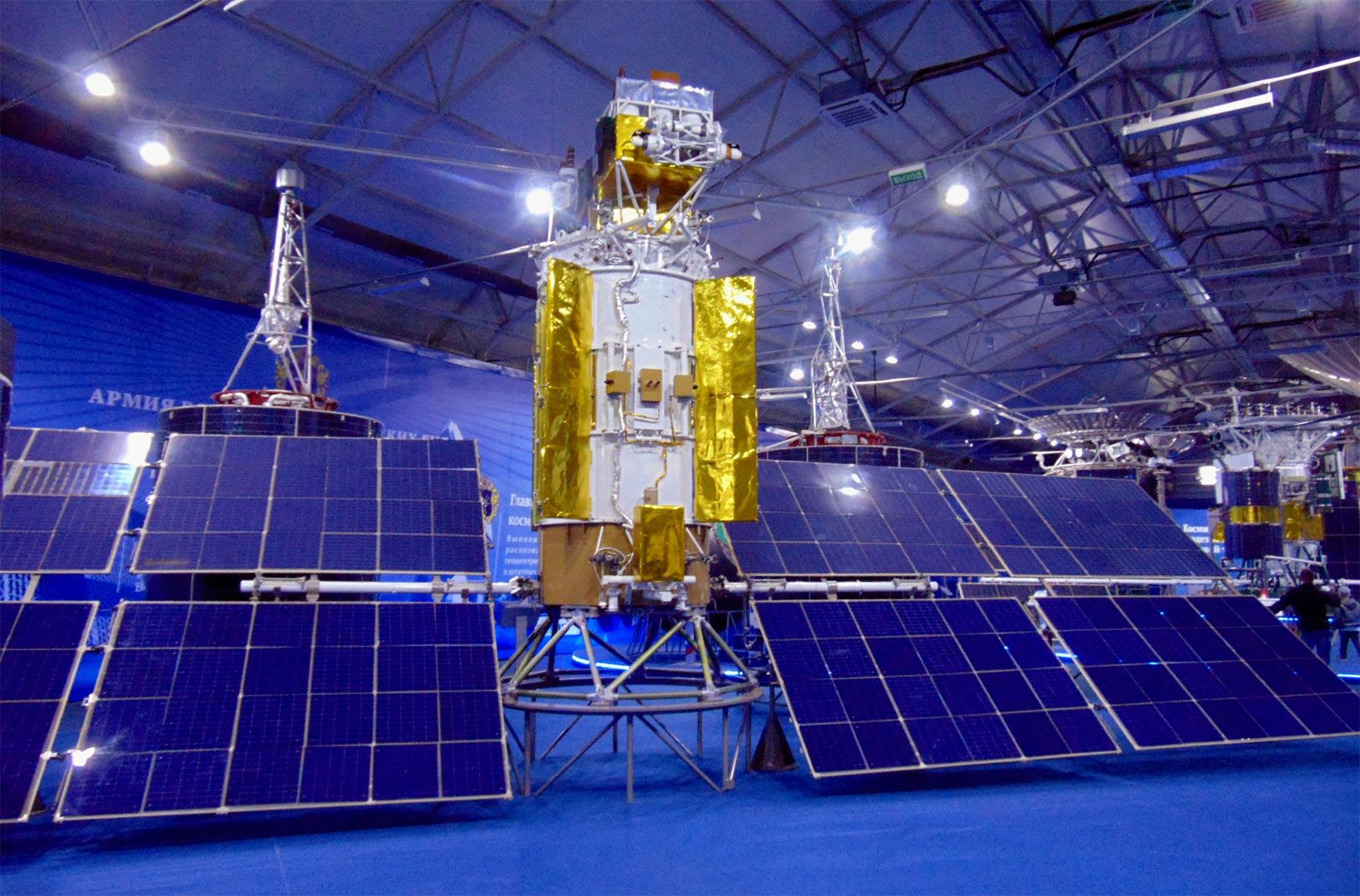 Russian satellites pavilion