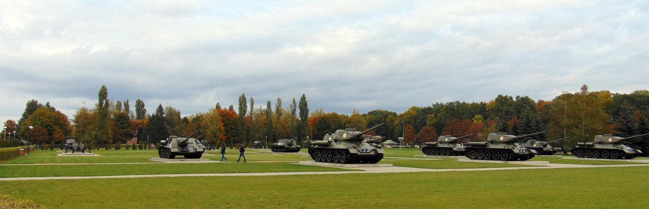 Prokhorovka battlefield tanks